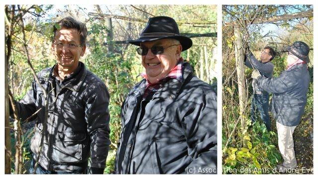 Dominique et Patrick, des hommes visiblement heureux!
