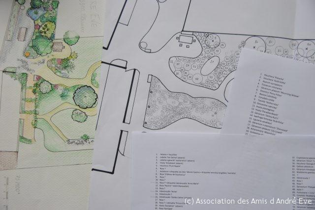 plan jardin andré eve